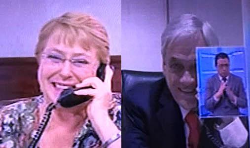 Bachelet desea éxito a Piñera en tradicional telefonazo al presidente electo
