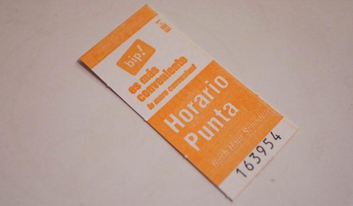 Se acaba la era de los boletos en el Metro de Santiago
