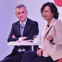 Ana Botín en visita relámpago a Chile para ver con sus propios ojos el modelo de Santander que quiere replicar