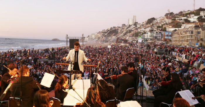 Gran Concierto gratuito de Año Nuevo en playa de Reñaca