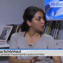 [VIDEO] Constanza Schönhaut: «Hubo una falta de lectura política de la Nueva Mayoría sobre el Chile en el que estamos»