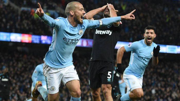 David Silva alarga la racha del Manchester City