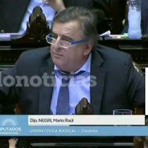 [VIDEO] Diputado argentino saca aplausos tras