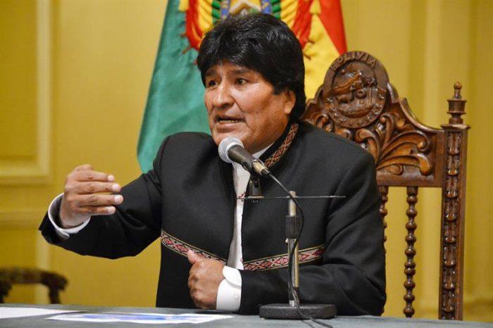 Evo Morales felicita a Piñera y confía en que no repetirá