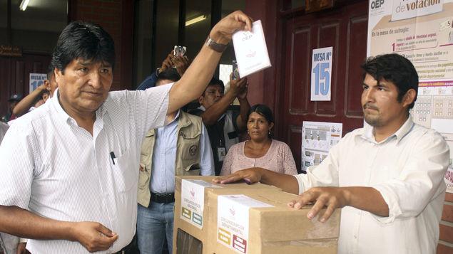 Bolivia responde con voto nulo tras fallo judicial a favor de Evo Morales que lo autoriza a presentarse a la reelección