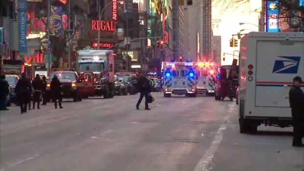 Posible terrorista resulta herido en explosión en Nueva York