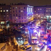 Rusia: al menos 10 heridos deja explosión en un supermercado de San Petersburgo