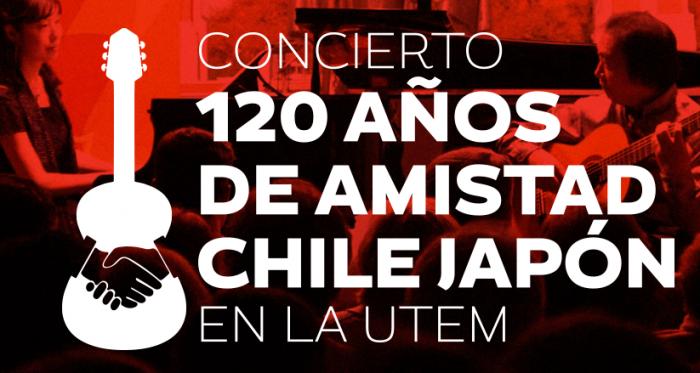 Concierto 120 años Amistad-Chile-Japón en Universidad Tecnológica Metropolitana