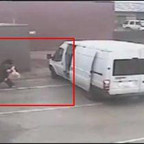 [VIDEO] El elaborado operativo de un ladrón para