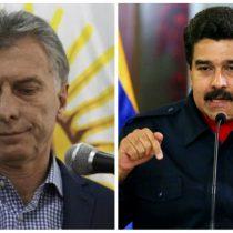 Maduro llama a Macri