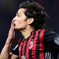[VIDEO] Hinchas del Milan eligen tanto de Matías Fernández como el mejor del 2017