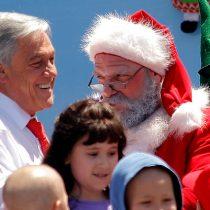 [VIDEO] El afectuoso saludo de Sebastián Piñera en tiempos navideños