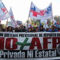 Movimiento No + AFP convocó a una movilización para el domingo