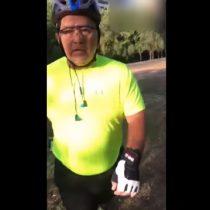 [VIDEO] Hombre agrede a pareja homosexual en Parque Araucano