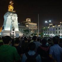 [VIDEOS] Peruanos salen a la calle a protestar el indulto humanitario a Alberto Fujimori