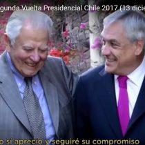 Hijos de Aylwin -no todos- critican a Piñera por usar nuevamente imagen del ex presidente en su franja electoral