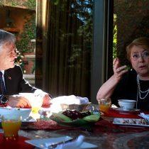 Bachelet dice tras desayunar con Piñera que espera que el nuevo presidente mantenga