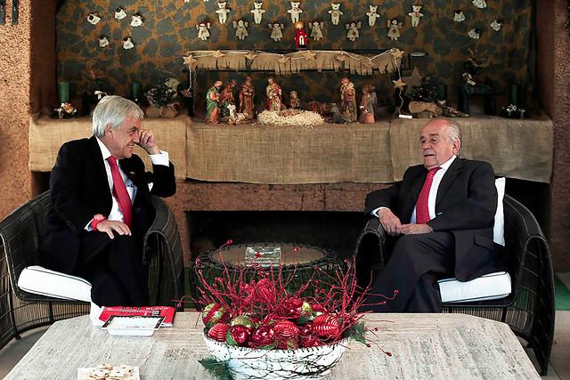 Andrés Zaldívar tras reunirse con Piñera: