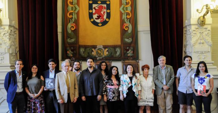 Ganadores Premios Municipales de Literatura 2017