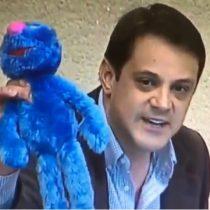 [VIDEO] Diputado Gaspar Rivas sorprendió en la Cámara con anuncio de su candidato para la segunda vuelta