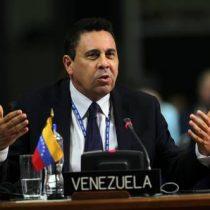 Venezuela: Maduro nombra al excanciller Samuel Moncada como nuevo embajador ante la ONU