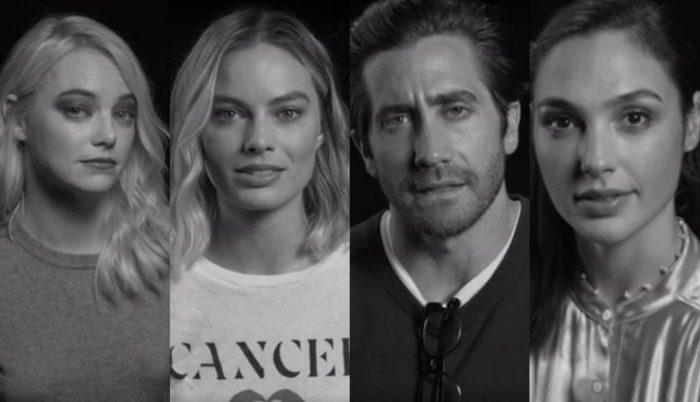 I will not be silent: famosos de Hollywood se unen contra el acoso sexual