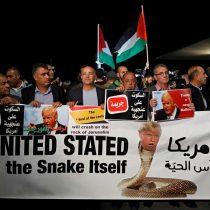 [VIDEO] Árabes israelíes protestan en Tel Aviv contra la decisión de Trump