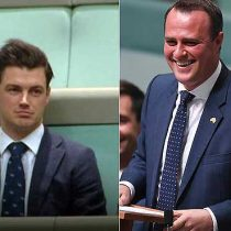 [VIDEO] Diputado australiano pide la mano a su novio durante debate de matrimonio igualitario