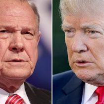 Trump pide a través de Twitter el voto para candidato al Senado acusado de acoso sexual