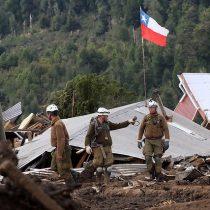 Villa Santa Lucía: suspenden búsqueda de víctimas por fuertes lluvias