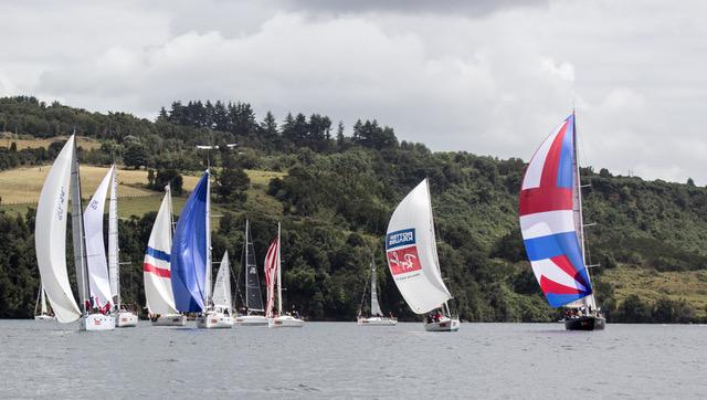 Regata Chiloé espera a más de 75 barcos entre el 20 y 27 de enero