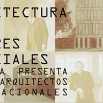 Exposición '' Arquitectura en lugares especiales'' en Casona Lo Contador