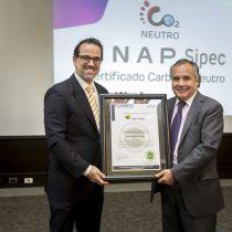 ENAP Sipec obtiene certificación de Carbono Neutralidad en todas sus operaciones