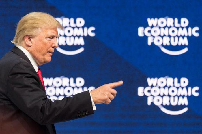 Trump en Davos:
