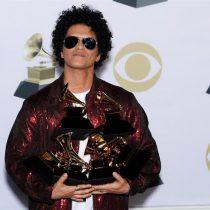 Bruno Mars gana el Grammy como mejor álbum del año, con