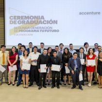 Jóvenes de bajos recursos se gradúan tras capacitarse en tecnologías de la información