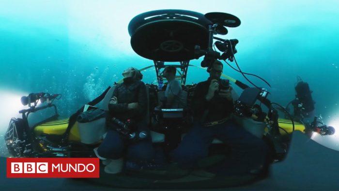 [VIDEO EN 360] En busca del calamar gigante a 1000 metros de profundidad