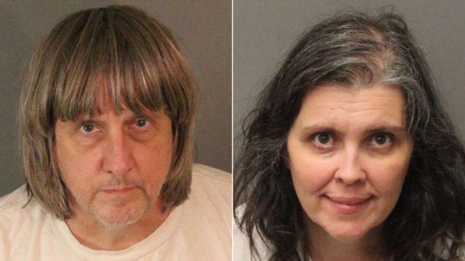 Estados Unidos: el estremecedor caso de los padres que mantenían cautivos y encadenados a sus 13 hijos en su vivienda en California