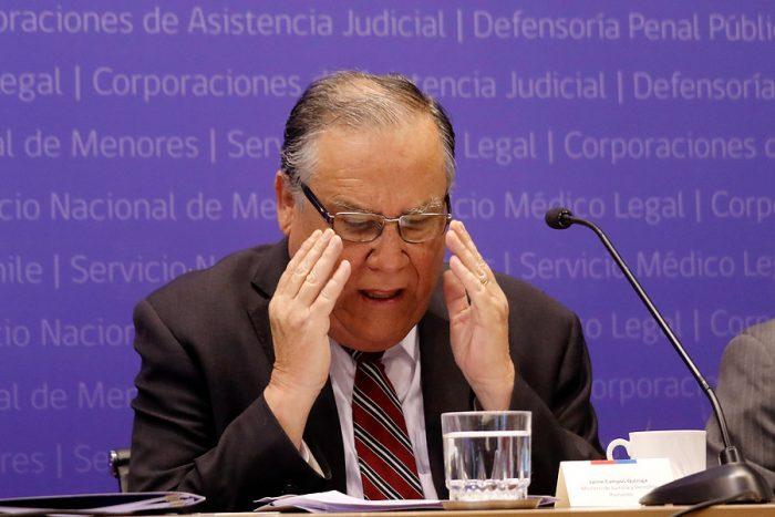 Campos pone presión al próximo gobierno en DD.HH: