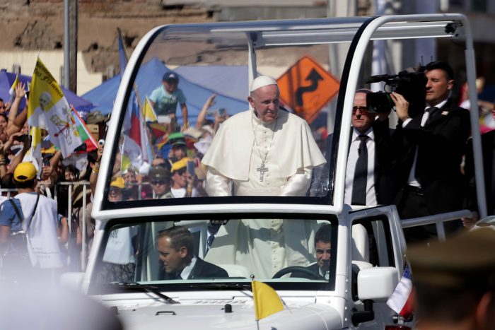 Papa Francisco a los jóvenes en Maipú: