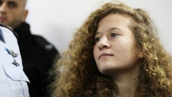 Ahed Tamimi, la adolescente palestina que abofeteó a un soldado de Israel y se convirtió en símbolo de la lucha contra la ocupación