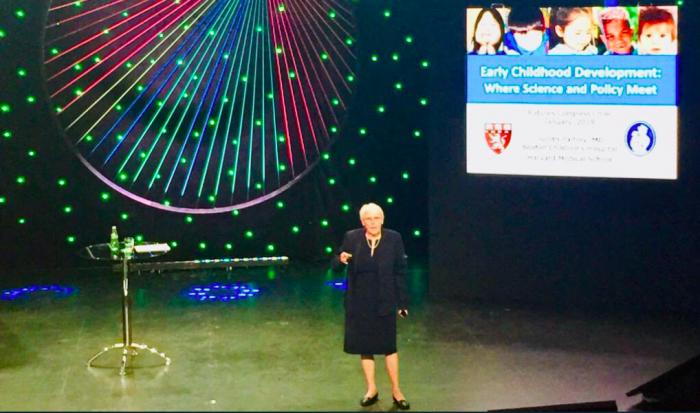"""Judith Palfrey, pediatra: """"Programas de primera infancia previenen problemasfuturos de salud mental, físicas y problemas de educación"""""""
