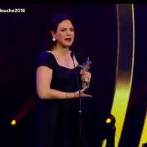 """Daniela Vega ganadora de premios Caleuche emociona con su discurso: """"El arte salvó mi vida"""""""