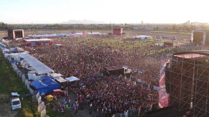 Extraordinaria jornada deleitó a miles de personas en la Cumbre del Rock Chileno