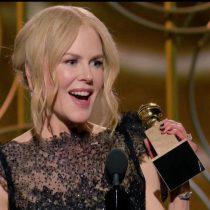 """Nicole Kidman y su discurso de agradecimiento en los Globos de Oro: """"Se debe al poder de las mujeres"""""""