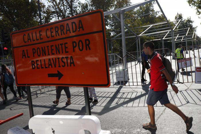 Cortes de tránsito a partir de este lunes en Santiago y Providencia por realización de la Fórmula E