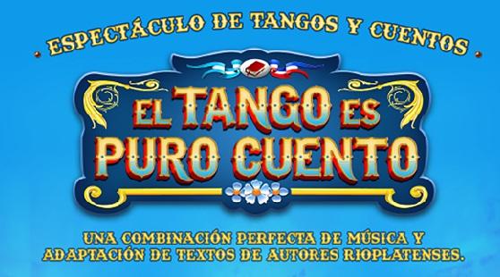 Musical «El tango es puro cuento» en Palacio Rioja, Viña del mar