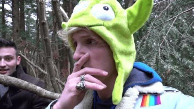YouTube rompe relaciones con Logan Paul tras la indignación que causó el video en el que aparecía el cadáver de un suicida en Japón