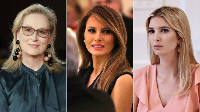 Meryl Streep le exige a Melania e Ivanka Trump una postura frente al acoso sexual