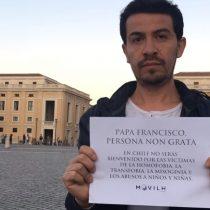 [VIDEO] Movilh lanza video contra visita el Papa y anuncia manifestación